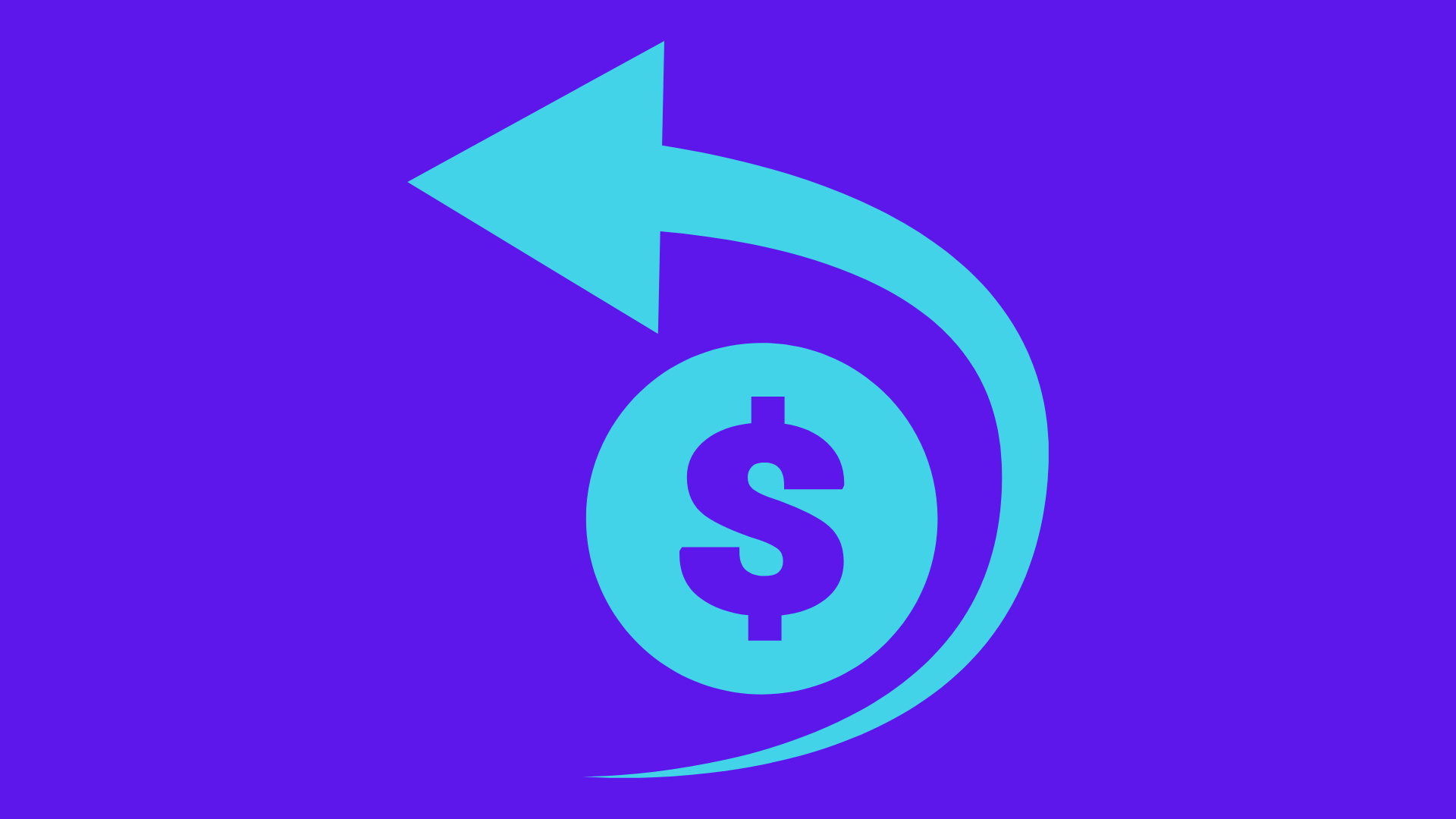 illustration of a dollar sign and an arrow illustrating return on investment